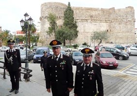 il generale Orlando e il colonnello Alestra