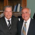 il presidente Morabito e l'assessore Scali