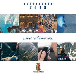 il calendario 2008 della Polizia di Stato