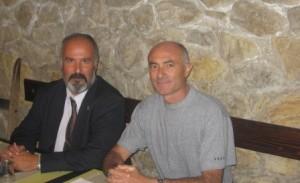 Vito Marra (a sinistra) in un recente incontro