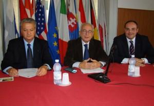 Da sinistra: Bova, Berlingò, Ferrara