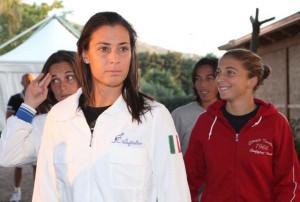 Flavia Penneta guida il team azzurro (photo Asa)