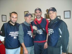 I volontari della LIDA
