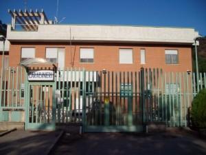 La Caserma dei Carabinieri di Cataforio