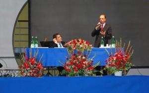 Giuseppe Cartella e Angelino Alfano