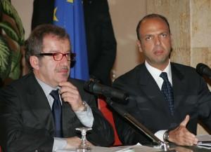 Roberto Maroni e Angelino Alfano