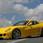 Una Ferrari 599 GTB Fiorano