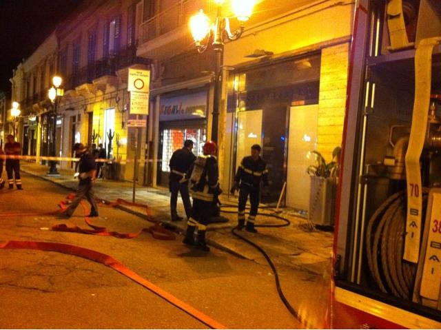 sale retailer 63171 3b10a Incendio nel negozio di calzature