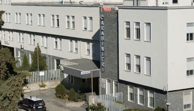 La sede della Compagnia Carabinieri di Roccella Jonica