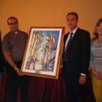 Ultime Notizie: Oppido Mamertina. L?Amministrazione Giannetta dona un quadro al Santuario Maria SS. Annunziata