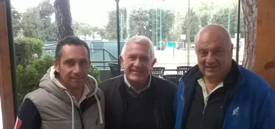 Da sx: Paolo Girella, Igino Postorino e Pino Carnovale