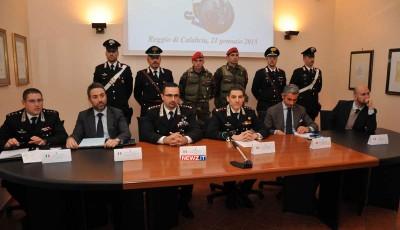 Da sinistra: Barone, Mucci, De Magistris, Falferi, Valerio, Piasentin