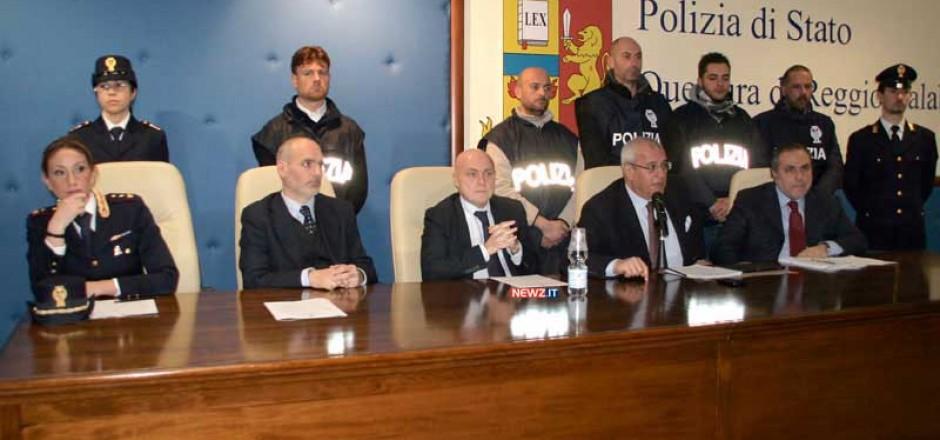 Da sinistra: Ciccariello, Rattà, Grassi, Crescenti, Morabito