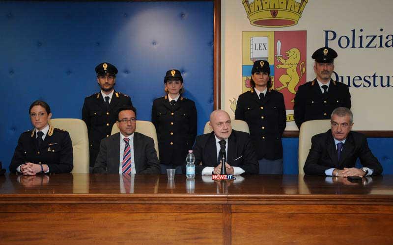 Da sinistra: Ciccariello, Costa, Grassi, Romeo