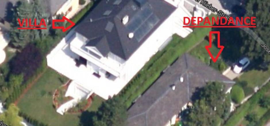 Un'altra immagine della villa confiscata in Austria