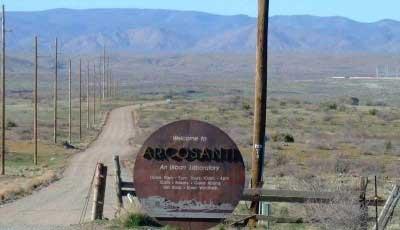 Welcome to Arcosanti, Arizona