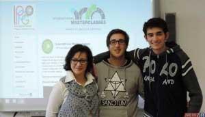 Prof. ssa Carmen Petronio, Jacopo Maria Gangemi VA, Daniele Caracciolo VB