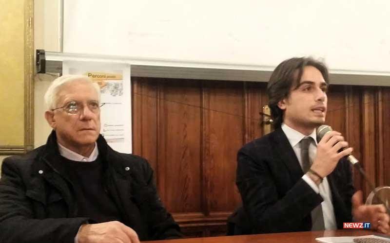 Tiberio Bentivoglio e Giuseppe Falcomatà