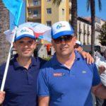 da sinistra: Gabriele Labate e Antonio Laurendi