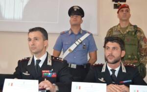 Il tenente colonnello Toscani e il capitano Di Mauro