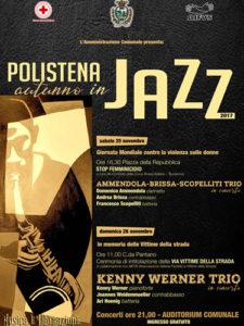 "Polistena. Locandina ""Autunno in Jazz 2017"""
