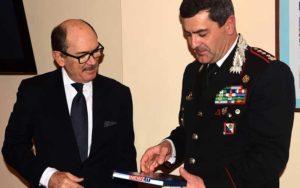 Federico Cafiero De Raho e Giuseppe Battaglia