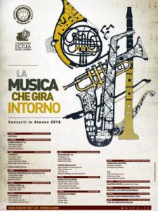 Università Mediterranea. Cartellone concerti 2018