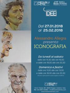Locandina mostra Alessandro Allegra