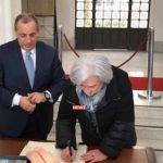 Rosy Bindi firma il registro contro la 'ndrangheta