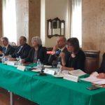 Da sinistra: Borselli, Francolini, Paci, Di Bari, Bindi, Petralia, Tassone, Mazza Laboccetta