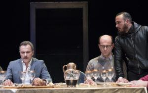 """""""Il sindaco del rione Sanità"""", da sinistra Massimiliano Gallo, Giovanni Ludeno, Francesco Di Leva - © Photo Mario Spada"""