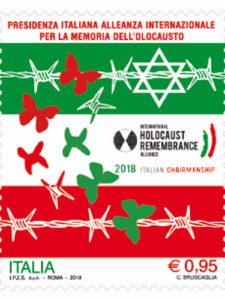 Fracobollo Olocausto delle Poste Italiane