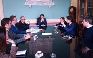 Riunione per la costituzione della Fondazione Cilea