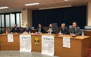 Da sinistra: Ranuccio, Salvati, Irto, Cananzi, Guerrisi, Maisano