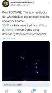Israele: la mano dell'Iran dietro l'ultimo attacco missilistico 2