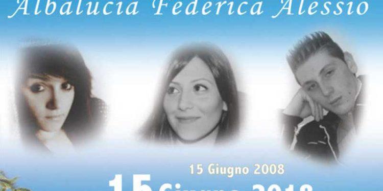 Le tre vittime