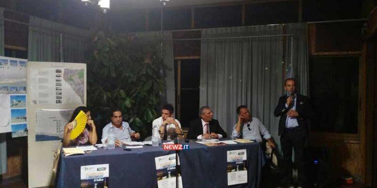 Il sindaco Giuseppe Falcomatà allo stesso tavolo con Paolo Romeo nell'ex ristorante Fata Morgana