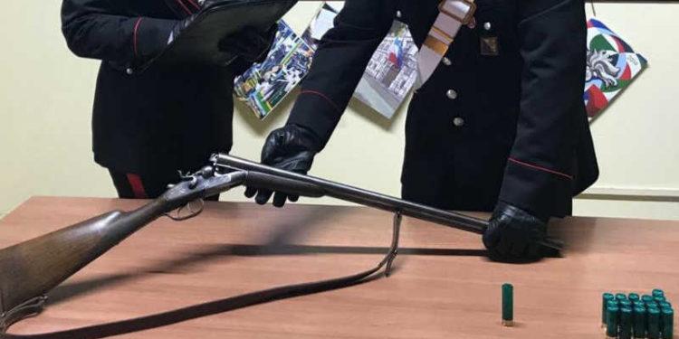 Il fucile legalmente detenuto