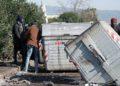 Incendio nella baraccopoli di San Ferdinando. Rinvenuto un corpo carbonizzato: le foto del rogo 16