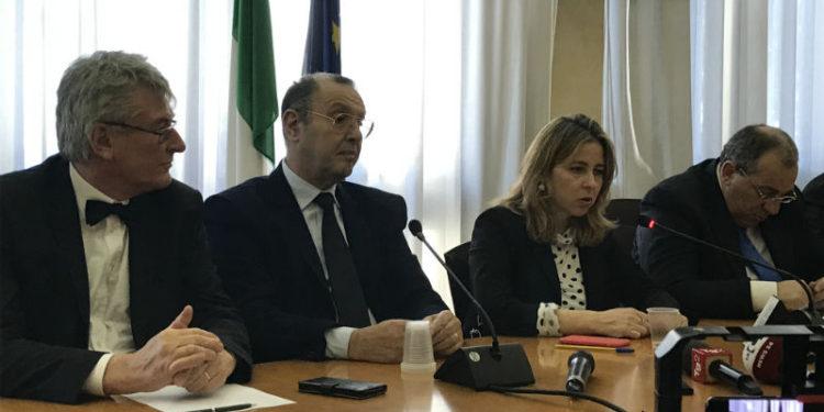 I commissari Schael e Cotticelli, il ministro Grillo e il prefetto Di Bari