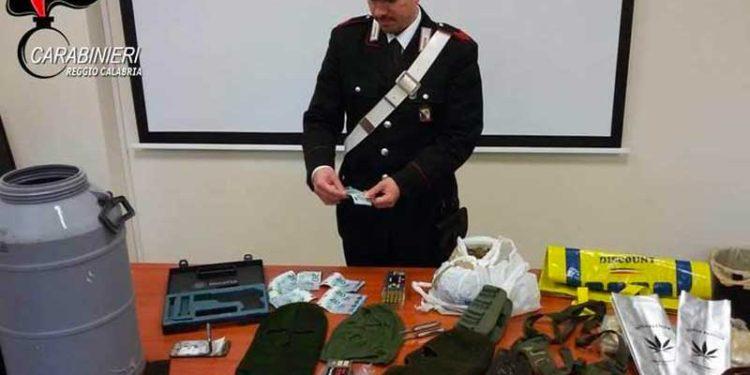 Bunker a Platì rinvenuto dai Carabinieri: anche 50 mila euro e munizioni 4