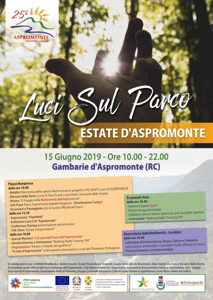 """""""Luci sul Parco"""", l'Aspromonte in festa il 15 giugno a Gambarie 3"""