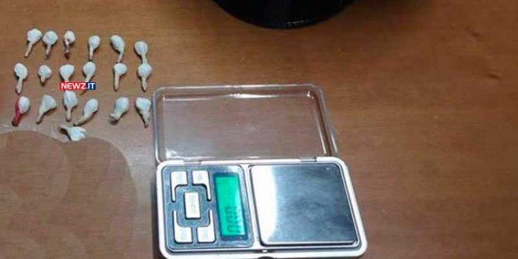 Cocaina rinvenuta in casa