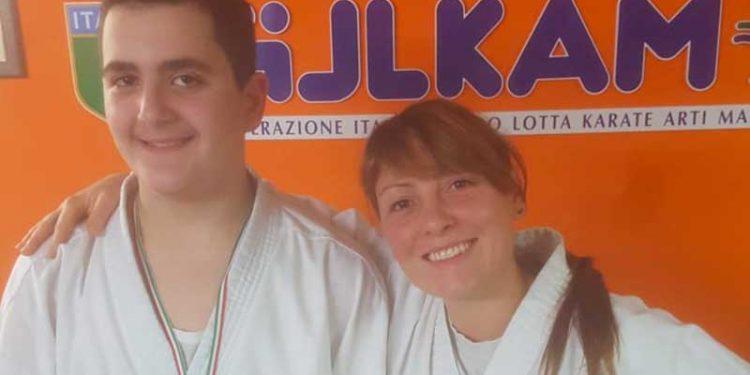 Mario Placanica e Indra La Fauci