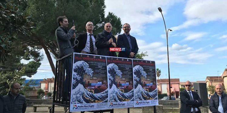 Morra, Vallone, Fioramonti sul palco