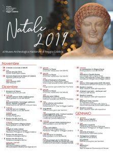 Museo Reggio Calabria MArRc calendario Natale 2019
