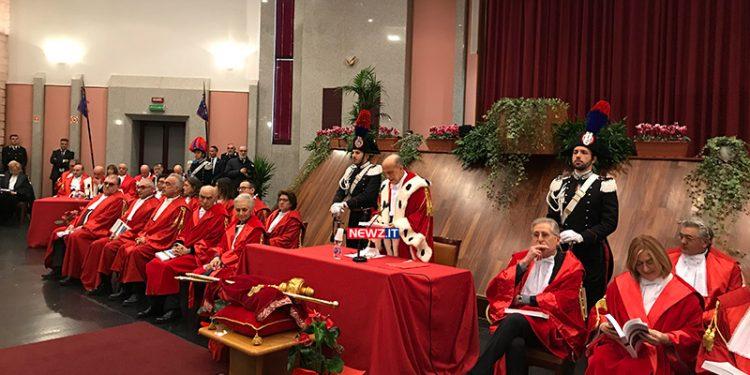 Inaugurazione anno giudiziario 2020 Reggio Calabria Gerardis